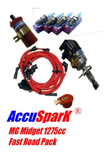 Mg Midget 1275cc Accuspark Distribuidor Electrónico rápido carretera Pack