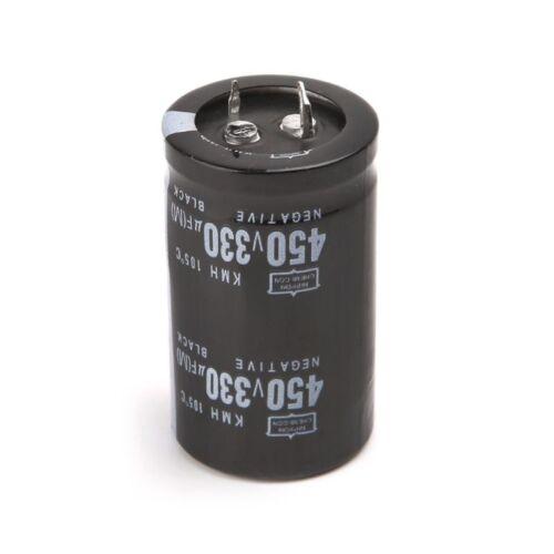 Electric Welder 450V 330uF Aluminum Electrolytic Capacitor Volume 30x50 Hard Foo