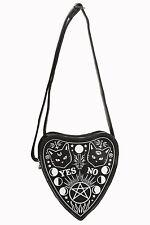 Banned Apparel Internal Fire Handbag Bag Purse Goth Cat Ouija Board AS16BG7085