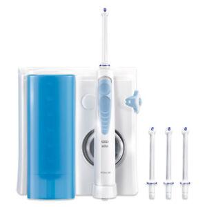 Oral-B-Reinigungssystem-Waterjet-Munddusche-mit-4-Ersatzduesen-Mundhygiene