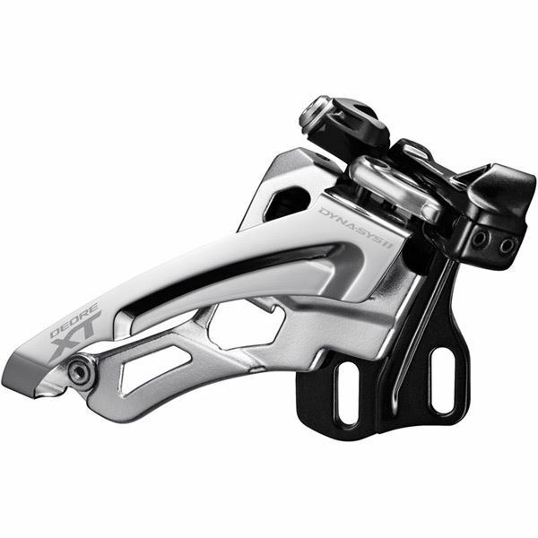 Shimano Deore XT  M8000-E triple front derailleur, E-type, side swing, front pull  up to 65% off