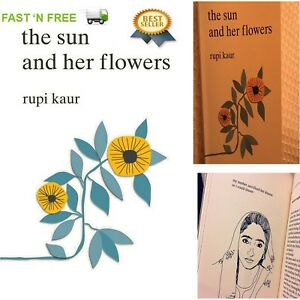 Details about The Sun and Her Flowers by Rupi Kaur Paperback 2017 NEW Best  Selling Book Poetry