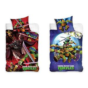 Teenage-Mutant-Ninja-Turtles-Kinderbettwaesche-Babybettwaesche-Kinder-Bettwaesche