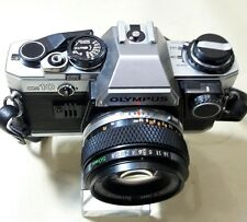 OLYMPUS OM10 CAMERA WITH LENS 50MM 1:1.8 NOT WORKING CONDITION