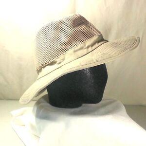 b562dd2d Panama Jack Mesh Netted Sides Ventilated Tan (Beige) Panama Hat Size ...