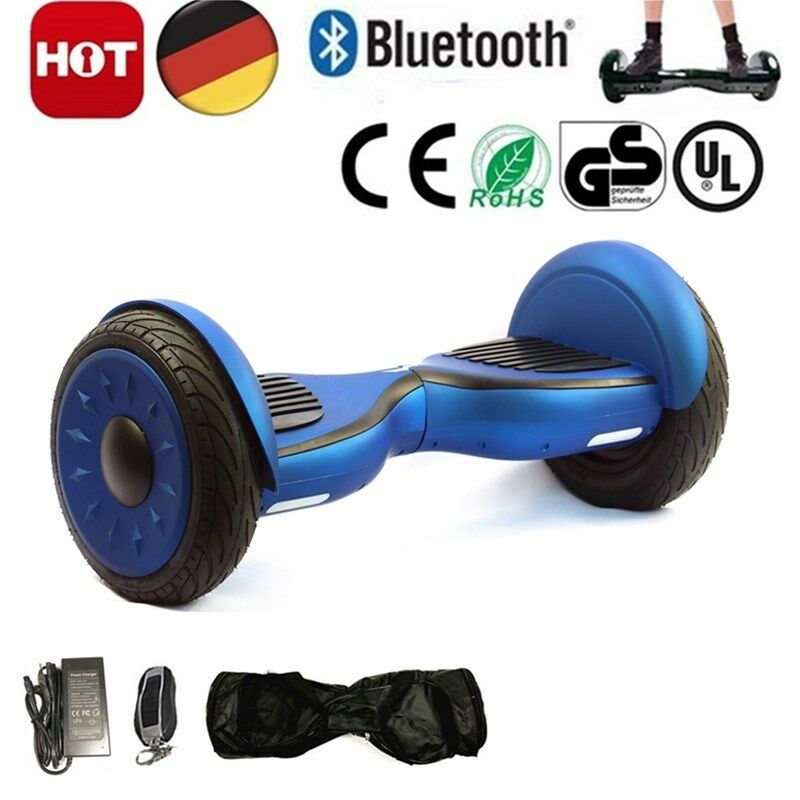 10  Hoverboard Electric Scooter Smart 2 wheel Self Balancing +blueetooth +Handbag