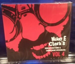 Mike E. Clark - Shocked Rhymes & Speechless 4 CD SEALED insane clown posse esham