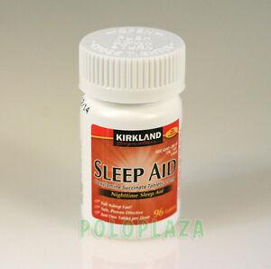 Kirkland signature nighttime sleep aid doxylamine succinate 25mg 96