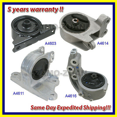 2000-2005 Mitsubishi Eclipse 3.0L Engine Motor & Trans. Mount Set 4PCS. for Auto
