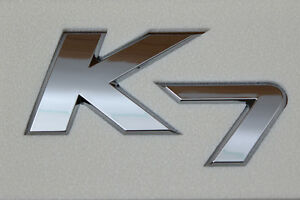 Cadenza-Kia-K7-Genuine-Emblem-Trunk-Logo-Korea-Parts-Chrome-86310-3R000-Rear-NEW