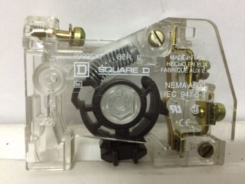 NC 120//600VAC Square D Auxiliary Contact 10A 9999SX7