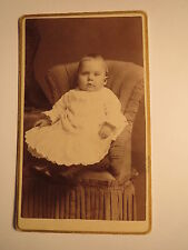 Ney York USA - Willie Zaiser - 8 1/2 Monate alt - Kleinkind im Sessel / CDV