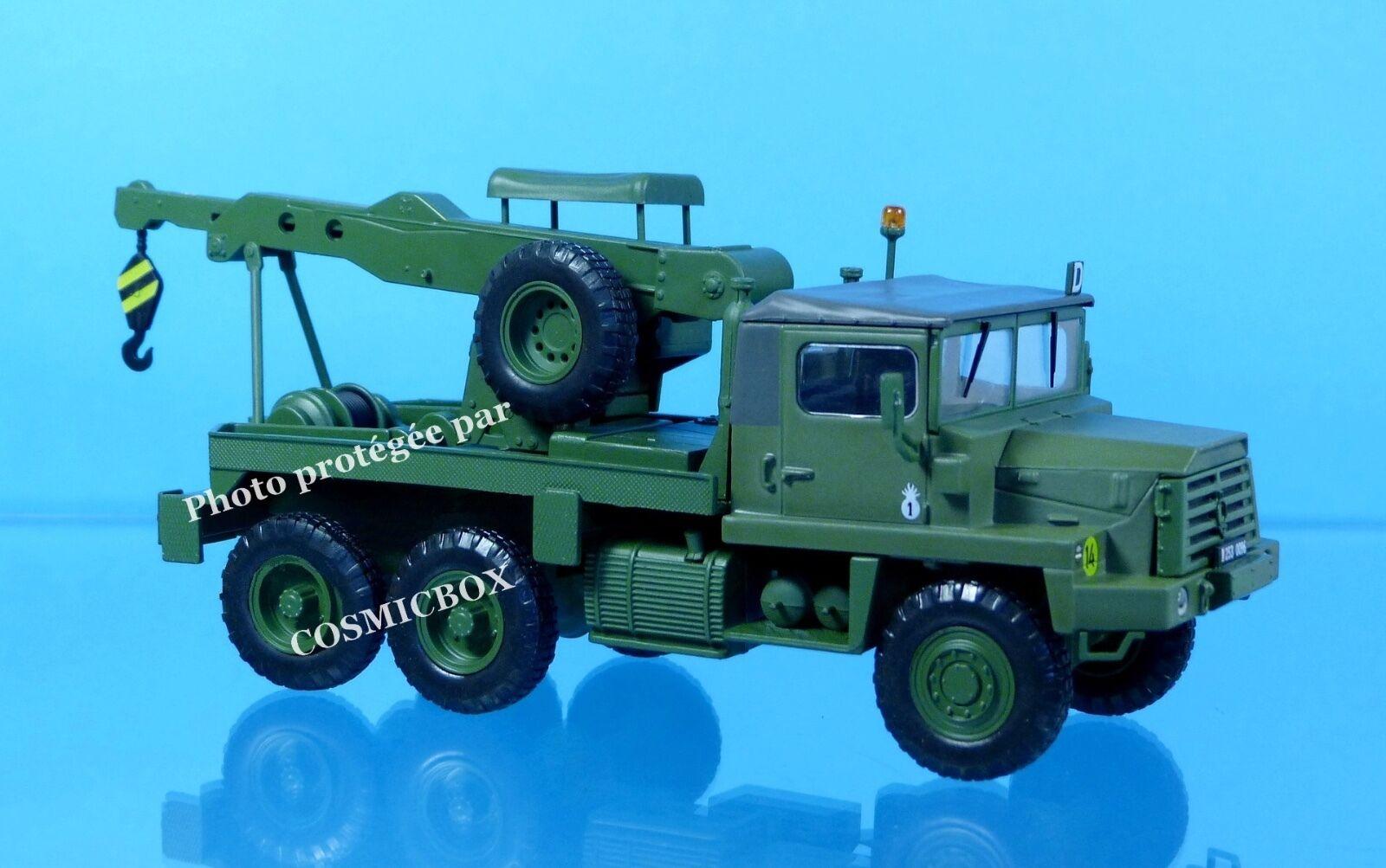 Camion Français BERLIET GBC 8 KT 1/43ème dépanneuse militaire à vendre 180 tbu