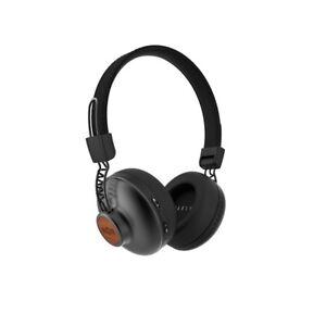 HOUSE-OF-MARLEY-Positive-Vibration-2-Wireless-Bluetooth-Kopfhoerer-Schwarz-NEU