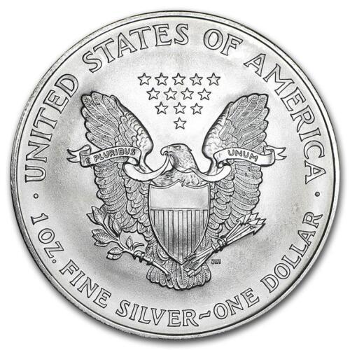 1996 Key Date Silver American Eagle BU 1 oz Coin US $1 Dollar Uncirculated Mint
