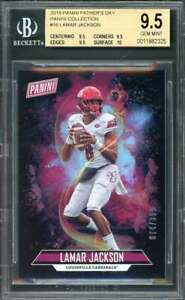 Lamar-Jackson-2018-Panini-Father-039-S-Day-Collection-16-BGS-9-5-9-5-9-5-9-5-10