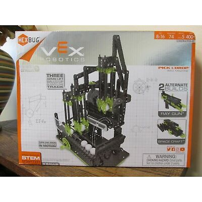 NEW!! Hexbugs Vex Robotics Pick and Drop Ball Machine  (406-4204)