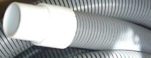 "IHelix Carpet Cleaning Vac Hose.Welded Cuffs Blue 1 1//2"" ID X 25' Truckmount"