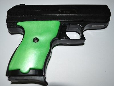 Hi Point C9 CF 380 pistol grips pearl neon green plastic | eBay