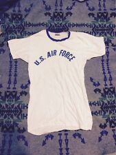 Original Vintage 50's 60's US AIR FORCES  WORKOUT EXERCISE  T-SHIRT