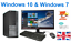 Rapide-Bon-Marche-Dell-HP-Core-i5-Ordinateur-de-bureau-Set-Complet-Pc-amp-TFT-16-Go-Windows-10-240 miniature 1