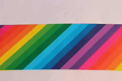 """""""Over the rainbow"""" transfer nail art foil - 1 meter"""