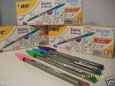 8 Penne Bic serie Fashion , 4 colori diversi. Colori Bic Chic. Nuovi.