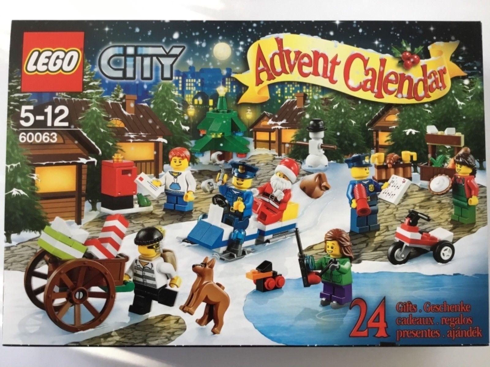 LEGO City 60063 - Adventskalender 2014 NEU OVP