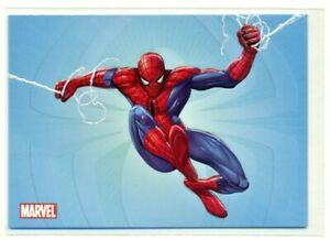 2009-MARVEL-SPIDER-MAN-ARCHIVES-SWINGING-INTO-ACTION-E10-E-10-CARD