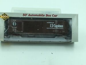 Proto-2000-El-Capitan-50-039-Automobile-Box-Car-w-Double-Doors-Ho-Scale-Train