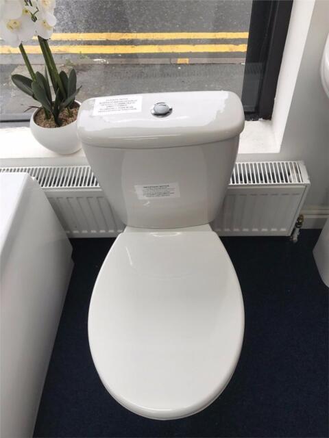 Phenomenal Closed Couple Toilet Cistern Set With Soft Close Seat Modern Creativecarmelina Interior Chair Design Creativecarmelinacom