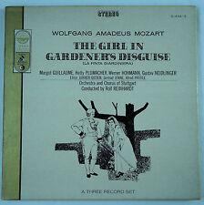 Mozart: The Girl in Gardener's Disguise/Reinhardt - Cetra/Everest 3LP Box Set EX