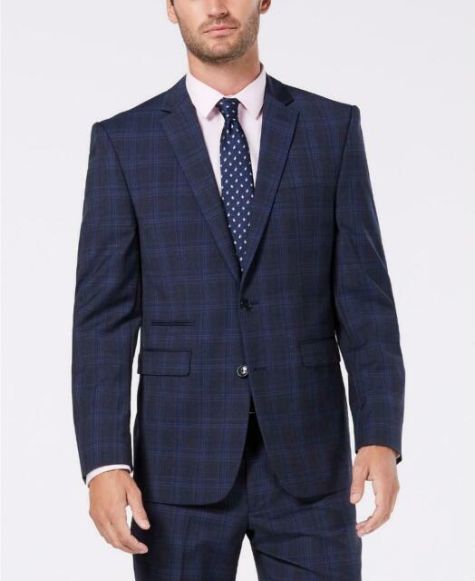 Vince Camuto Mens Slim Fit Stretch Suit