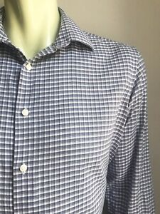 Ben Sherman Shirt, Dunhill Plaid, Large, Slim Fit, Excellent Condition