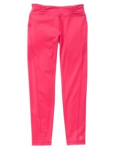 GYMBOREE-GYMGO-ELECTRIC-PINK-SOLID-ACTIVE-LEGGING-5-6-NWT