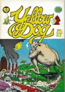 YELLOW DOG COMICS #17 MARCH 1970 PRINTMINT GREG IRONS TRINA ROBBINS JUSTIN GREEN