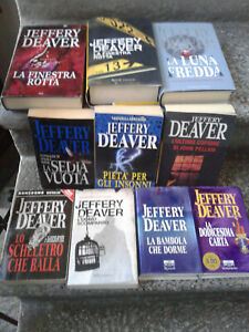 Jeffery Deaver lotto 10 libri