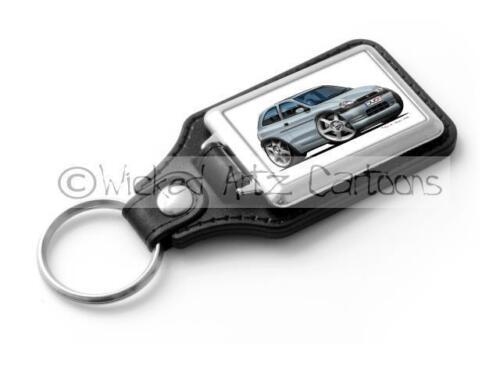 in 6 Colours Classic Key Ring WickedArtz Cartoon Car Vauxhall Corsa B MK1 1995