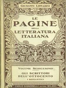 LE-PAGINE-DELLA-LETTERATURA-ITALIANA-VOL-SEDICESIMO-GIUSEPPE-LIPPARINI