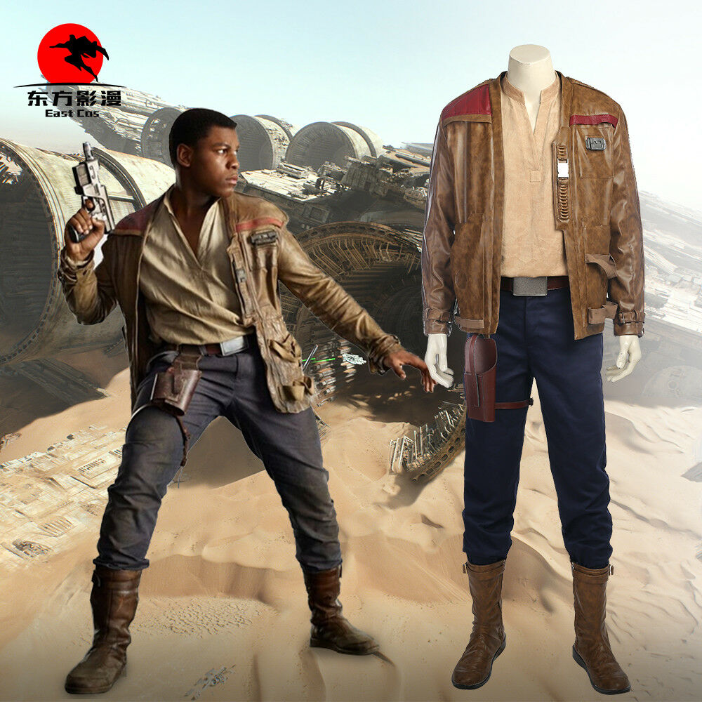 Star Wars : The Last Jedi - Finn Cosplay Costume Deluxe Full Suit Custom Made
