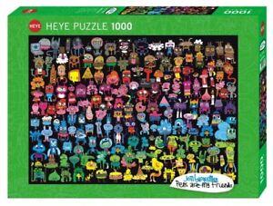 JON BURGERMAN - DOODLE RAINBOW - Heye Puzzle 29786 - 1000 Teile Pcs.