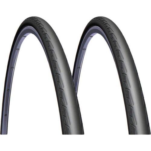 2x Mitas Syrinx V 80 28 Zoll 700x23C 23-622 Fahrrad Reifen schwarz 1 Paar tires