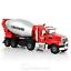 KDW-1-50-Scale-Diecast-Cement-Mixer-Truck-Construction-Equipment-Vehicle-Model miniature 1