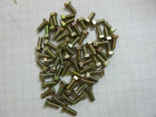 m 5 gewindeschrauben 12mm lang 8.8 schlüsselweite 8 100g = ca 35 stück neu