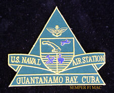 NAS GUANTANAMO BAY, CUBA PATCH US NAVAL AIR STATION NAVY JET BASE VFA USS NAS