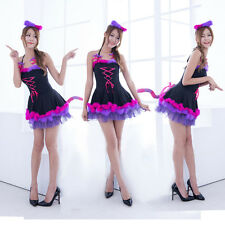 New Cat Girl Cosplay Princess Dress Japan School Costume Halloween Party Uniform