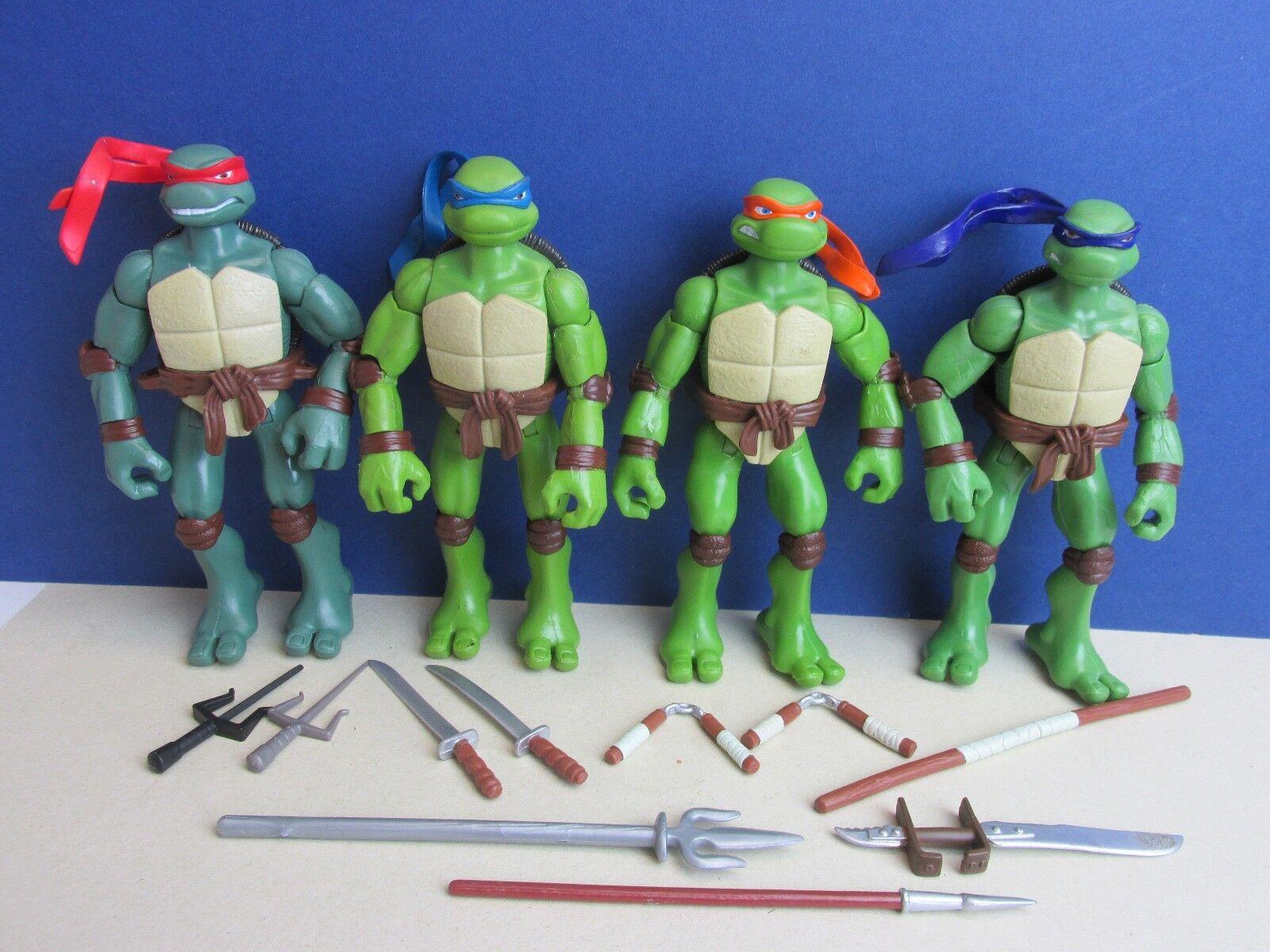 Tmnt 2006 filmkulisse actionfigur teenage mutant ninja turtle leo ralph nicht b61