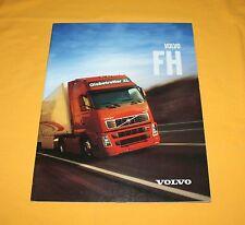 Volvo FH 2002 camiones folleto Truck brochure disociada depliant Catalog prospetto
