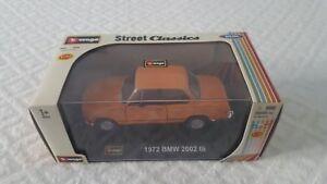 Burago 1972 Bmw 2002 Tii Street Classic 1:32 Rare Vintage Nouveau