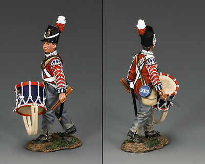 KING AND COUNTRY Napoleonic British Drummer Boy with Sword NA289
